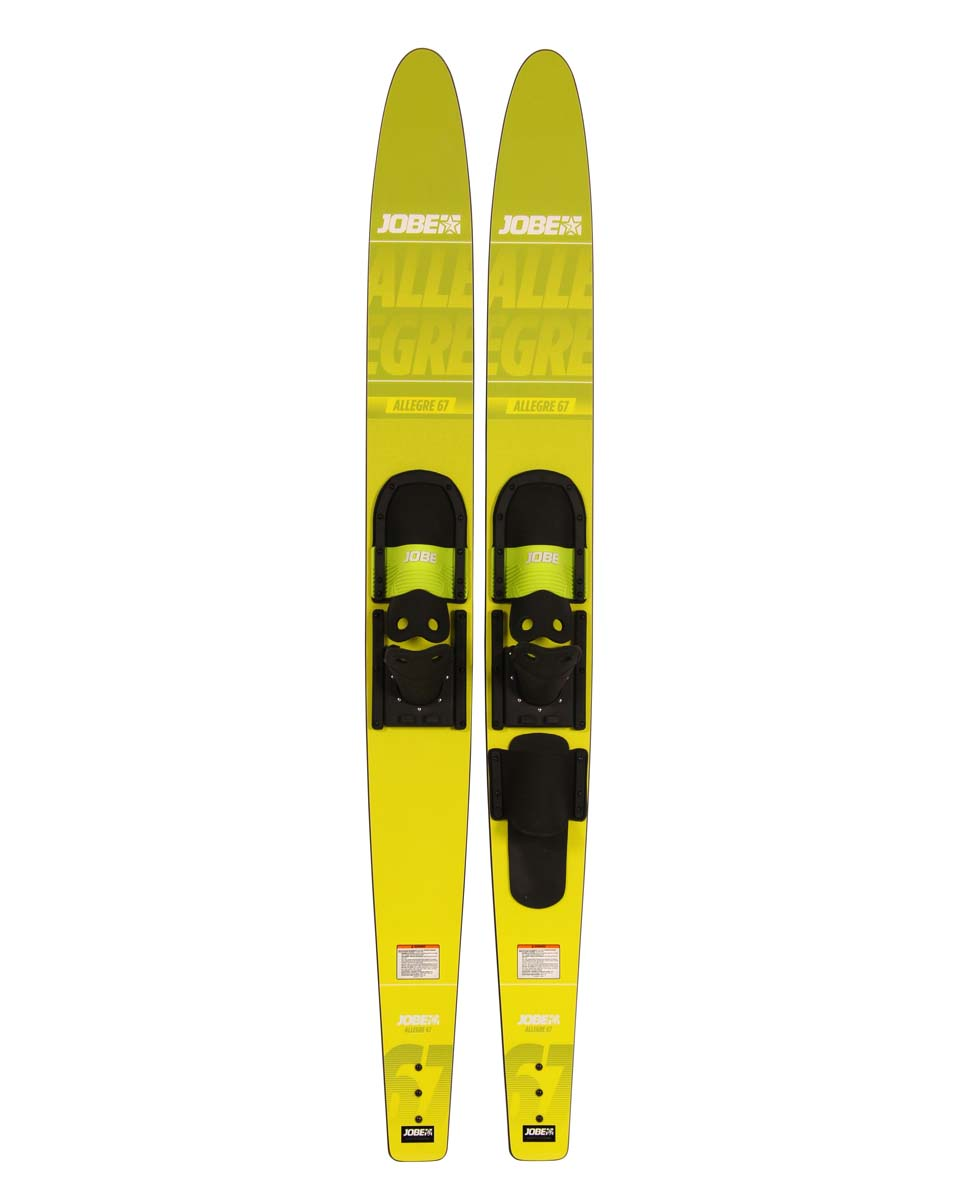 lyže párové - Jobe Allegre Combo Waterskis Yellow